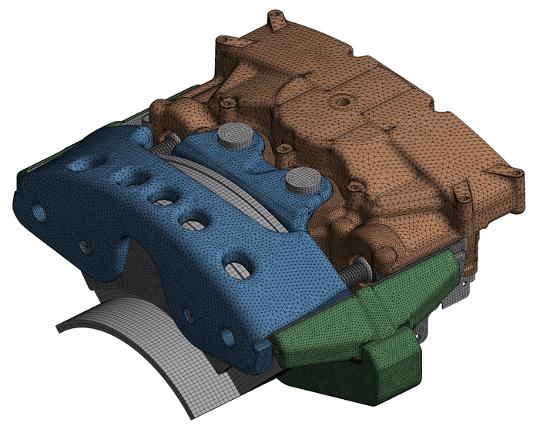 Numerical model of disc brake